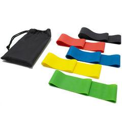 Резинки для фитнеса, набор из 5 штук
