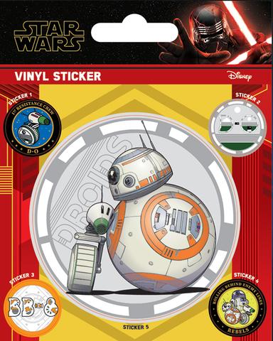 Набор стикеров Star Wars: The Rise of Skywalker (Droids)