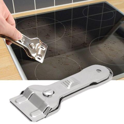 Скребок для стеклокерамических плит + 4 лезвия