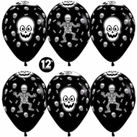 Воздушные шары Танцующий скелет