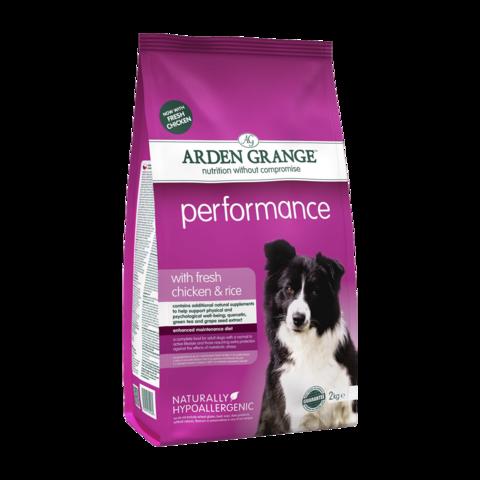 Arden Grange Performance Сухой корм для взрослых Активных собак Перформанс