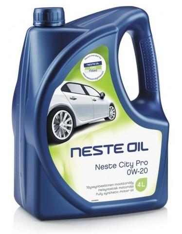 Масло моторное синтетическое Neste City Pro OW-20 4 л