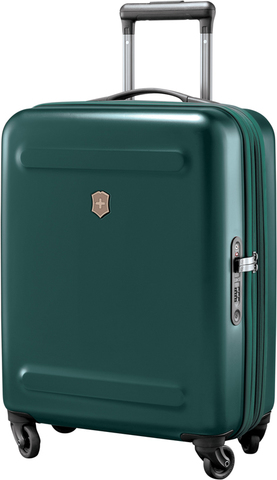 Чемодан Victorinox Etherius 17.1, с возможностью расширения на 4 см, зеленый, 39x20x55 см, 34 л