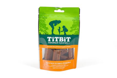 Titbit биточки из мяса индейки для маленьких собак 50г