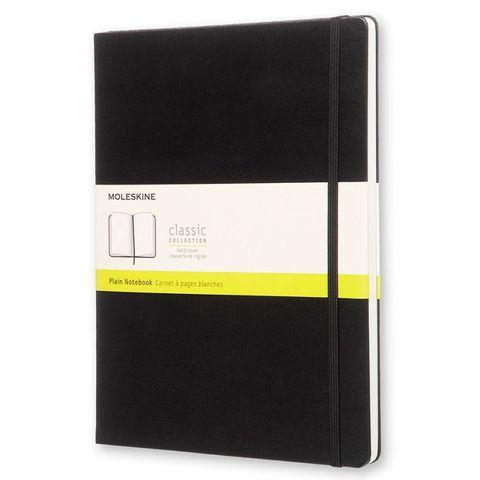 Блокнот Moleskine CLASSIC QP092 XLarge 190х250мм 192стр. нелинованный твердая обложка черный