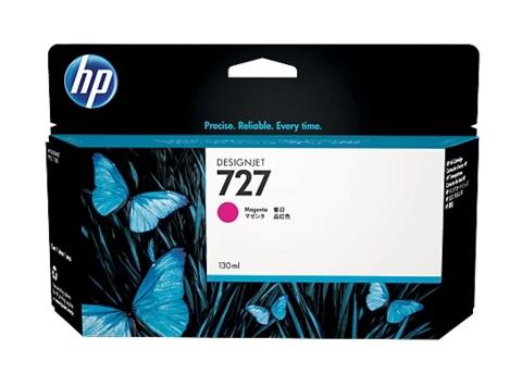 Картридж струйный HP B3P20A (№727) пурпурный