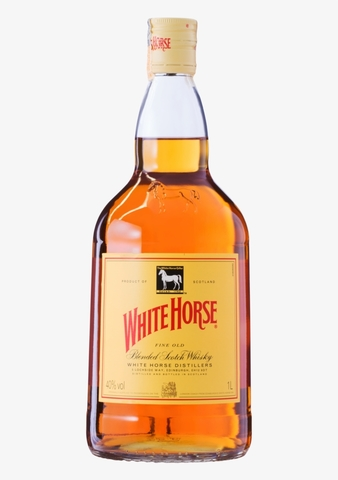 Виски Уайт Хорс шотландский купажированный 1л