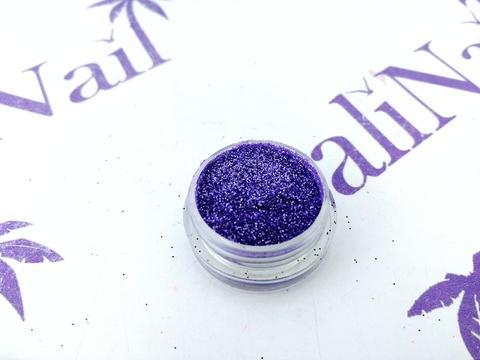 TNL Меланж-сахарок для дизайна ногтей №10 светло-фиолетовый