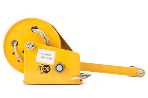 Лебедка ручная TOR ЛБ-1200 (BHW) г/п 0,5 т, длина троса 10 м, шт