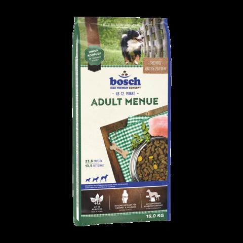Bosch Adult Menue Сухой корм для собак со средним или повышенным уровнем активности с домашней птицей
