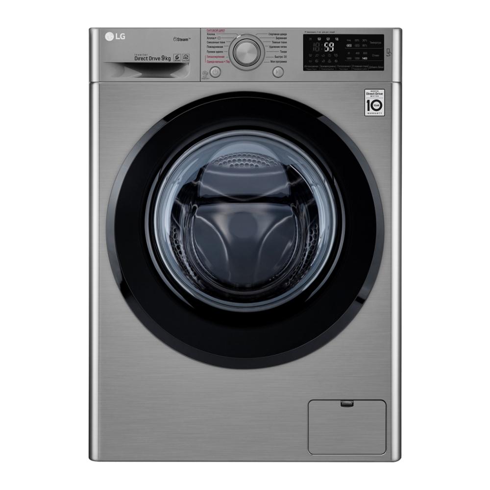 Фото - Стиральная машина LG F4M5VS6S стиральная машина lg f4v5tg0w