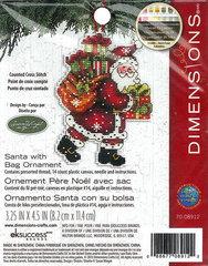 DIMENSIONS Санта с мешком (Santa with bag)