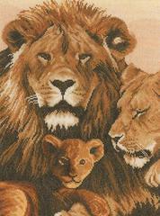 Lanarte Lion Family (Семья львов)