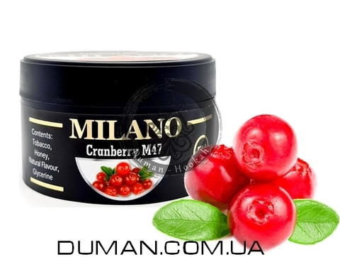 Табак Milano M47 Cranberry (Милано Клюква)