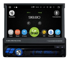 Штатная магнитола 1 DIN на Android 8.0 для Hyundai Terracan I 01-07 Roximo CarDroid RD-1001
