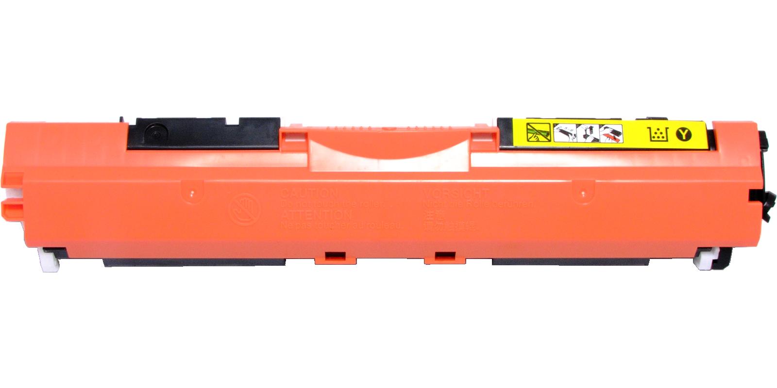 ULTRA №126A CE312A/Cartridge 729Y, желтый (yellow), для HP/Canon, до 1000 стр.