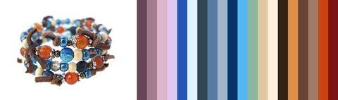 цветовая палитра для одежды под этот браслет