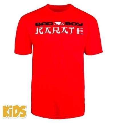 Футболка детская Bad Boy Karate Discipline Youth T-shirt Red