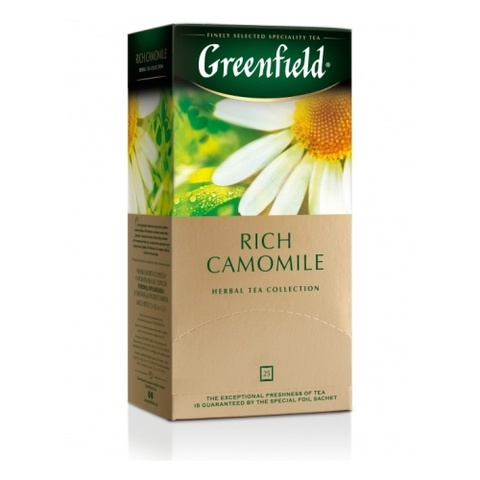 Чай травяной «Greenfield» Rich Camomile 25 п