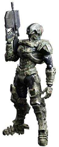 Starship Troopers Invasion Play Arts Kai Figure - Hero