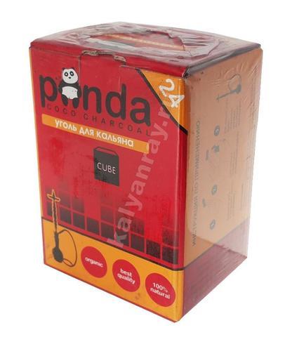 Уголь кокосовый Panda красная 24 кубика
