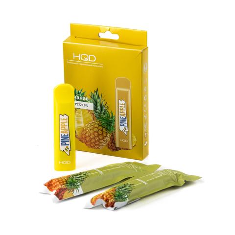 Одноразовая электронная сигарета HQD Cuvie Pineapple (Ананас) 1 шт