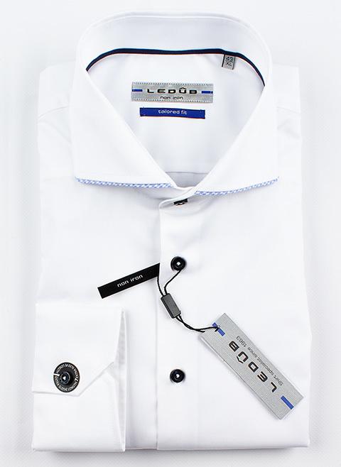 Рубашка Ledub tailored fit 0137266-910-130-119