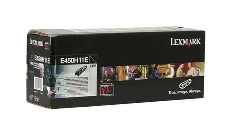 Картридж Lexmark E450H11E черный