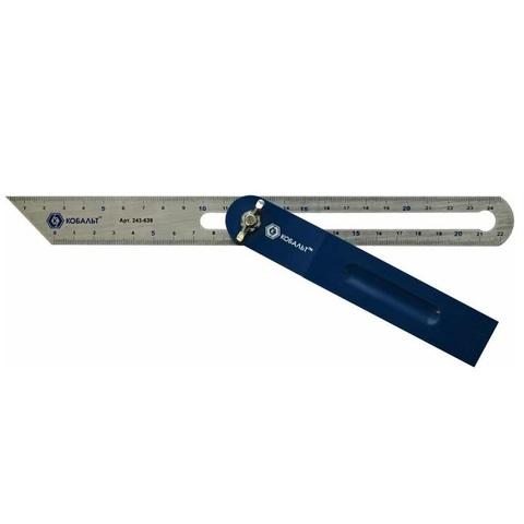 Угломер переставной КОБАЛЬТ малка, 250 мм (243-639), шт