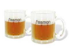 9305 FISSMAN Кружки 2 шт / 350 мл