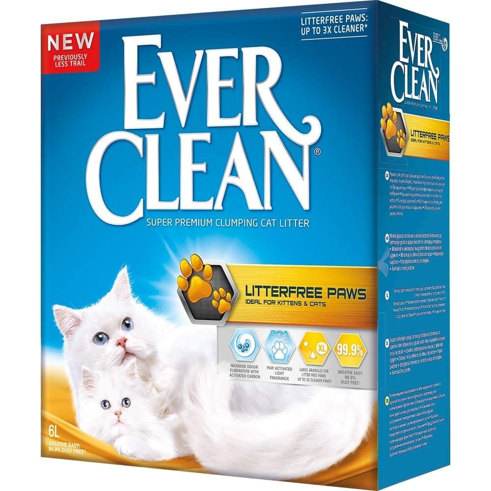 Купить Ever Clean LitterFree Paws