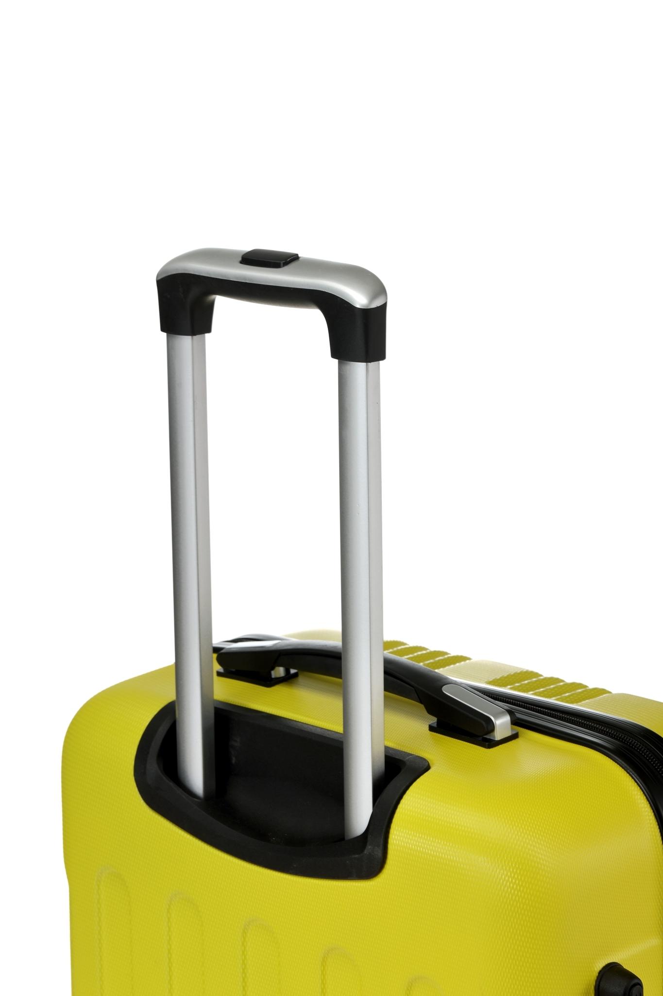 Чемодан со съемными колесами L'case Bangkok-18 Желтый ручная кладь (S)