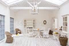 Стол обеденный Secret De Maison Ривьера (RIVIERA) ( mod.2112 ) — Antique white/white wash
