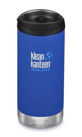 Термобутылка Klean Kanteen TKWide Cafe Cap 12oz (355 мл) Deep Surf
