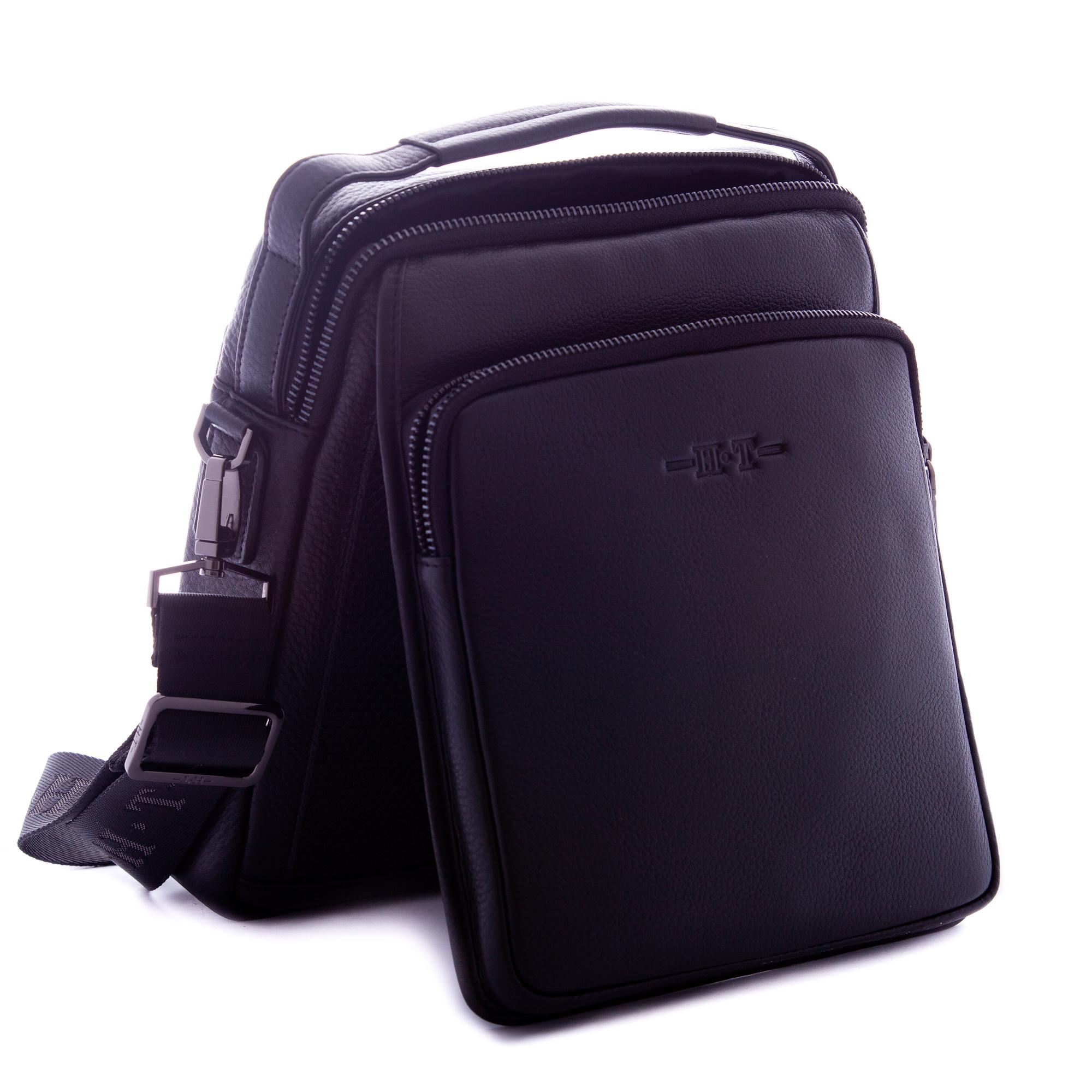 Кожаный планшет сумка из кожи с ручкой HT 03595
