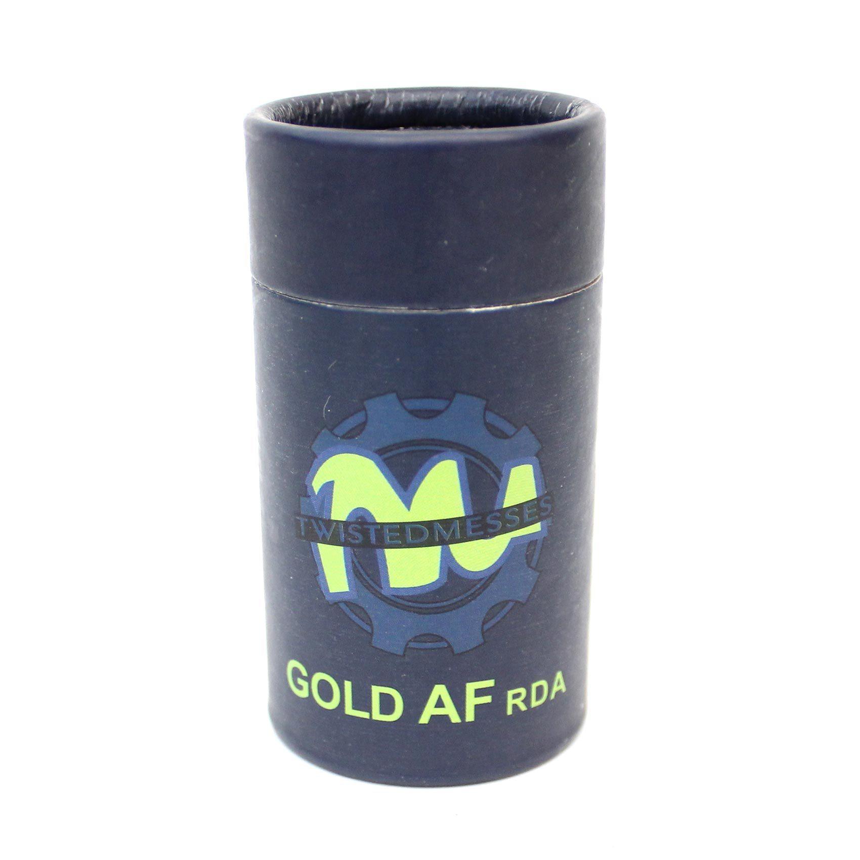 Дрипка Twisted Messes Gold AF (Clone) коробка