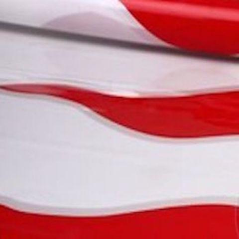 Пленка полипропиленовая цветная Пламя 70см х 7м Цвет: красный