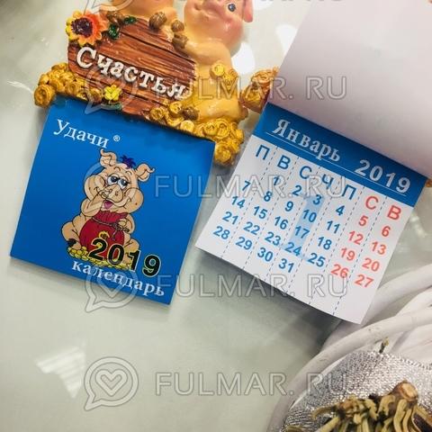 Магнит-календарь новогодний 2019 символ года