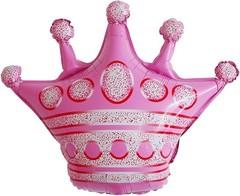 К Фигура, Корона, Розовый, 30''/76см.