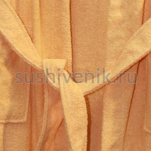 Халат женский махровый для бани