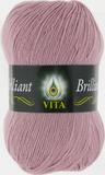 Пряжа Vita Brilliant пыльная сирень 5118
