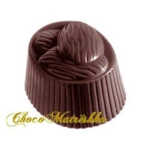 Форма поликарбонатная для шоколада (Бельгия) - Миндальное трио