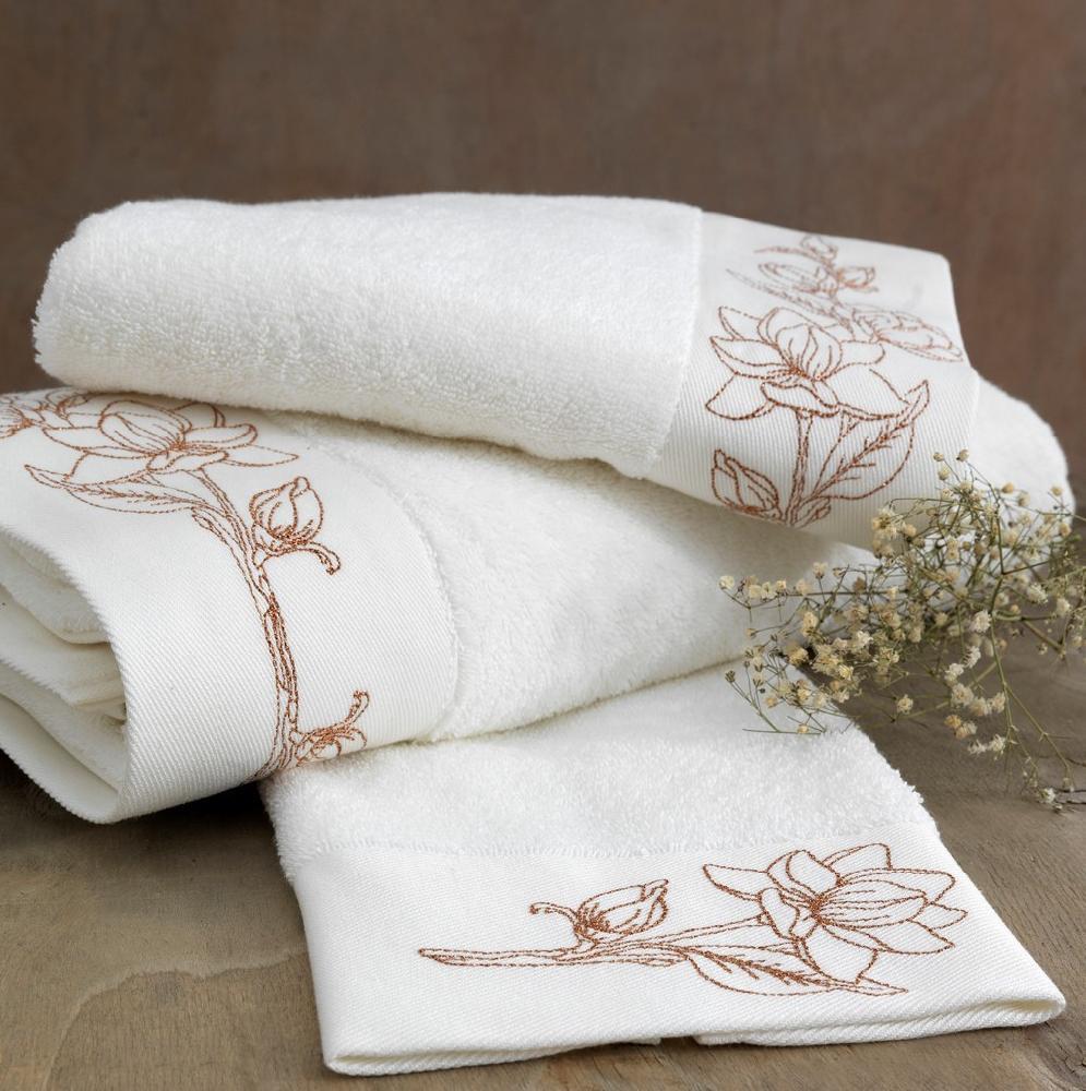 Полотенца VIOLA NAKISLI  полотенце махровое Soft Cotton (Турция) VIOLA_NAKISLI_бронза.jpeg
