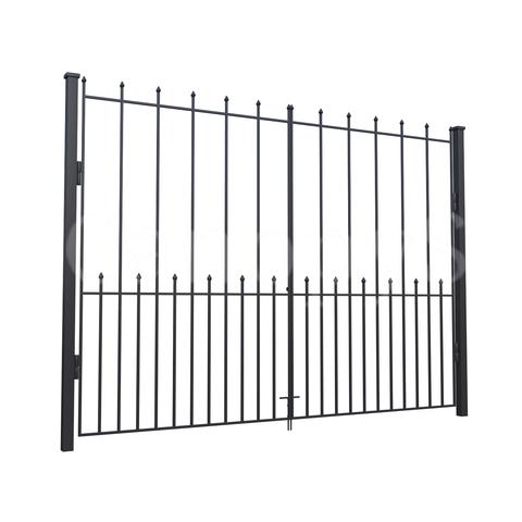 Ворота с пиками