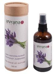 Натуральная цветочная вода Лаванды 100% гидролат, 100ml ТМ Levrana
