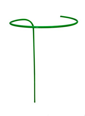 Опора для цветов малая H-0,9м,диам.-0,4 ст.тр.-10мм, ПВХ