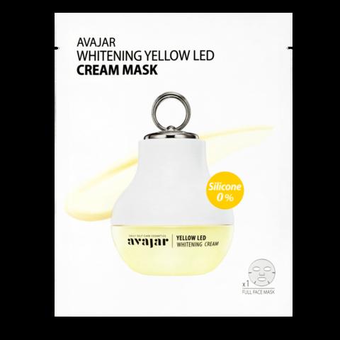 AVAJAR   Осветляющая кремовая LED маска / 5 шт