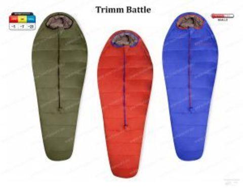 Спальник туристический зимний Trimm BATTLE, 195 R