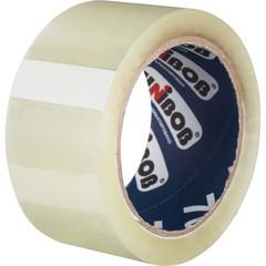 Скотч клейкая лента упаковочная Unibob прозрачная 50 мм x 66 м толщина 47 мкм (морозостойкая)