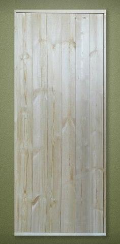 Дверь деревянная банная клиновая